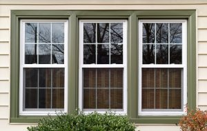 Replacement windows installed by Sunrise Restorations